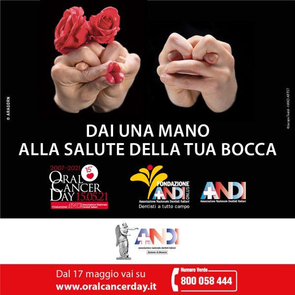 Oral Cancer Day 2021 dal 17 Maggio